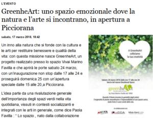 greenheart gazzetta lucca