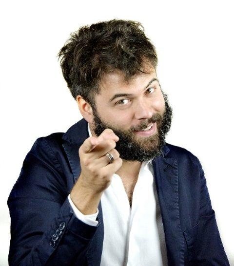 Incontro con il comico Matteo Cesca